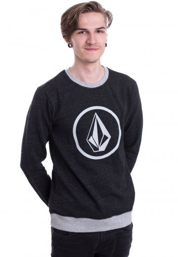 Volcom - Stone Crew Sulfur Black - Sweater
