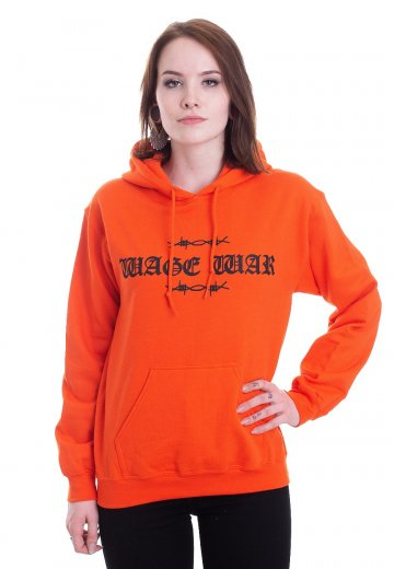 Wage War - Cobweb Orange - Hoodie