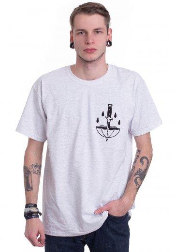 Wage War - Pull The Knife Ash Grey - T-Shirt