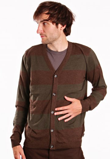 edd8dcaeba Wesc - Gaspare Dark Brown Melange - Cardigan - Impericon.com Worldwide