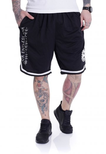 Whitechapel - Our Endless War Striped - Shorts