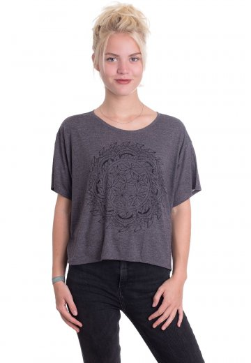 Whitechapel - Zen Crop Dark Heather - Girly
