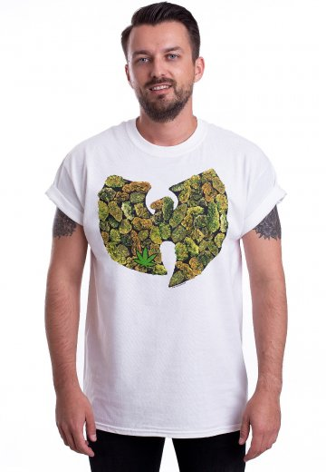 2a6ce2ded131 Wu-Tang Clan - Potleaf Logo White - T-Shirt - Official Pop ...