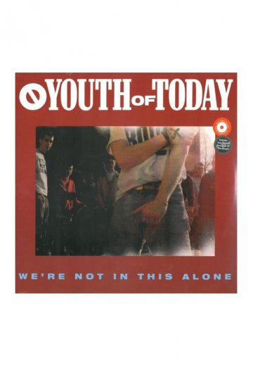 Youth Of Today - We're Not In This Alone - CD