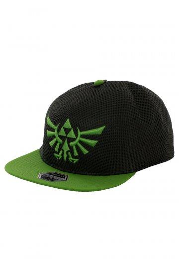 0c191e98f The Legend Of Zelda - Hyrule Crest Logo Green - Cap