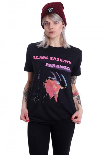 Neu Black Sabbath Paranoid Motion Trails Official Merchandise T-Shirt M//L//XL