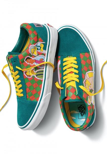 Vans x Simpsons - Old Skool Moe'S Green - Shoes - Impericon.com US