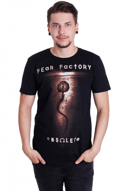 NEW /& OFFICIAL! Fear Factory /'Obsolete/' T-Shirt