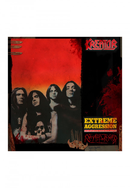 badhabitmerch MED-2XL New Kreator Extreme Aggression Album Heavy Metal Shirt
