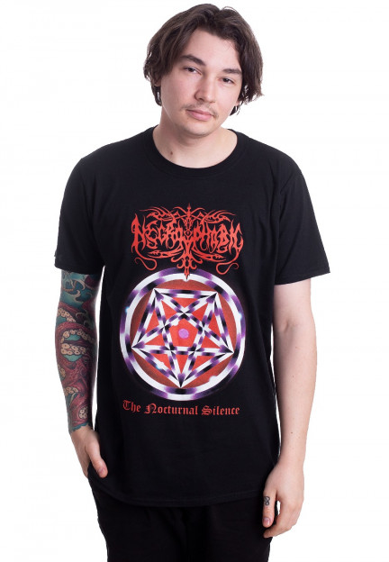 Necrophobic /'The Nocturnal Silence/' Black T-Shirt NEW /& OFFICIAL!