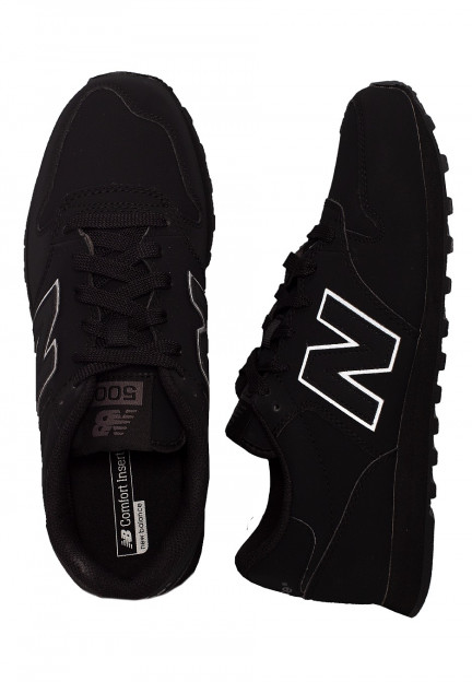 New Balance - GM500 TRB Black - Shoes - Impericon.com US