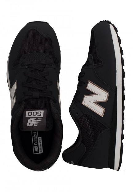New Balance - GW500 B HHB Black - Girl Shoes - Impericon.com Worldwide