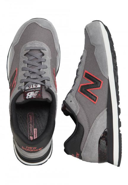 New Balance - ML515NBD Grey/Black - Shoes - Impericon.com US