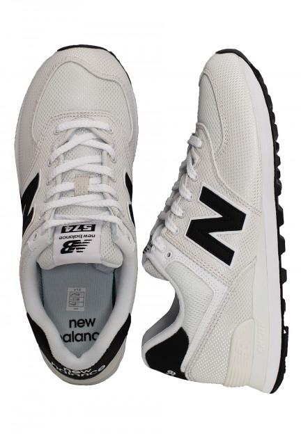 New Balance - ML574 D SUW White/Blue - Shoes - Impericon.com Worldwide