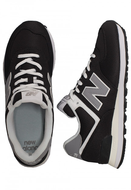 New Balance - ML574 D SCI Black/Yellow - Shoes - Impericon.com US