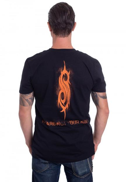 T-Shirt NEW /& OFFICIAL! Black Slipknot /'WANYK Orange/'