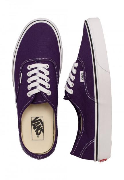 Vans - Authentic Violet Indigo/True White - Zapatos - Impericon.com ES