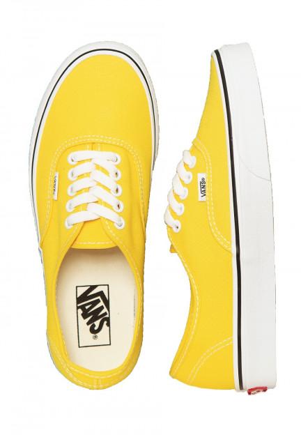 Vans - Authentic Vibrant Yellow/True White - Zapatos - Impericon ...