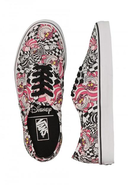 Vans - Authentic Disney Cheshire Cat/Black - Girl Shoes ...