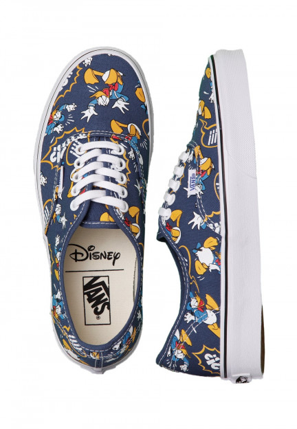 Vans - Authentic Donald Duck/Navy - Girl Shoes - Impericon.com ...