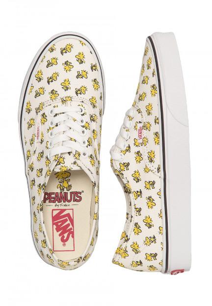 Vans X Peanuts - Authentic Peanuts Woodstock - Zapatos para chica ...