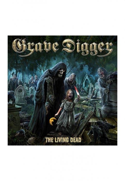 grave digger the living dead digipak cd loja oficial de true