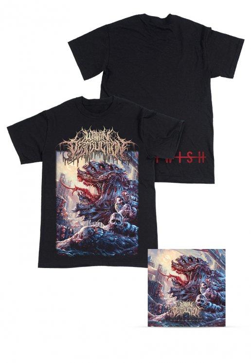 ba8599f6b1f938 Within Destruction - Deathwish Special Pack - T-shirt - Officiell Slam  Merchandise Shop - Impericon.com SE