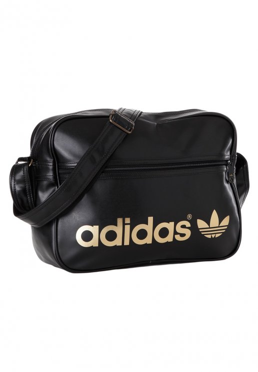 b0075a77b5 Adidas - AC Airline Black Metallic Gold - Tasche - Streetwear Shop -  Impericon.com DE