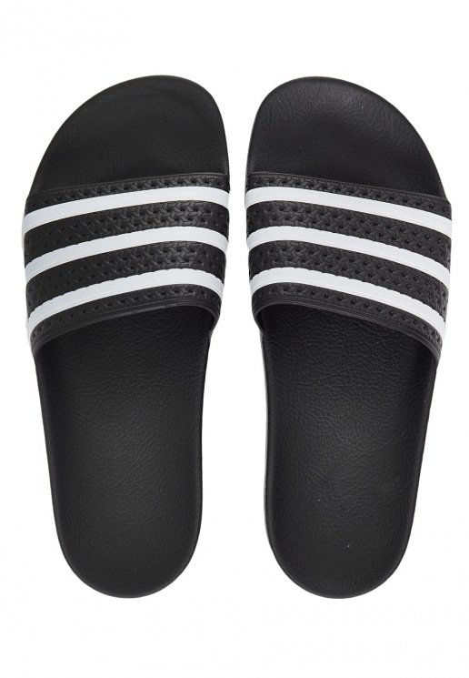 b16734c576a2 Adidas - Adilette Black White Black - Girl Sandals - Impericon.com Worldwide