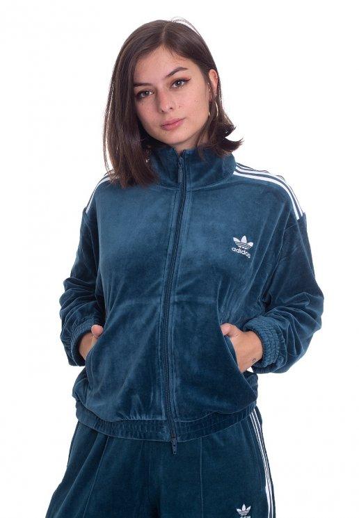 Adidas Velvet Tracktop Tech Mineral Track Jacket