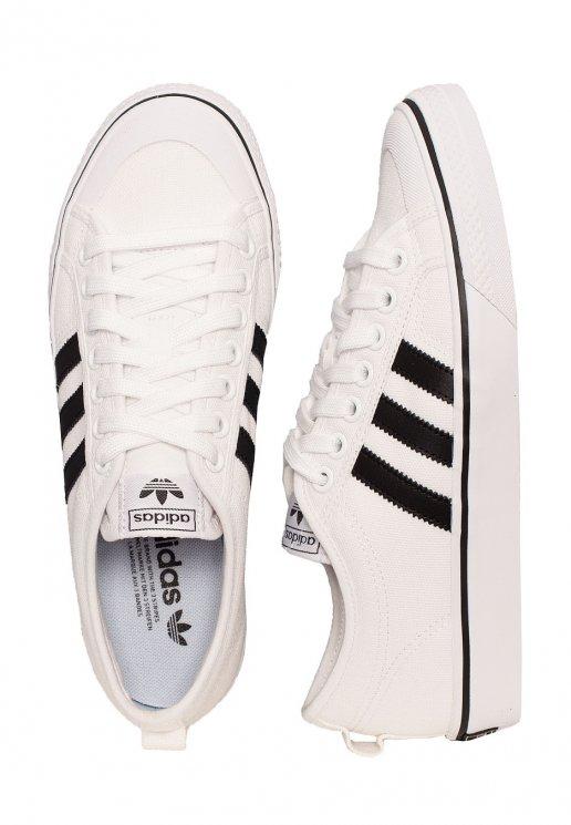 Adidas Nizza FTW WhiteCore BlackFTW White Shoes