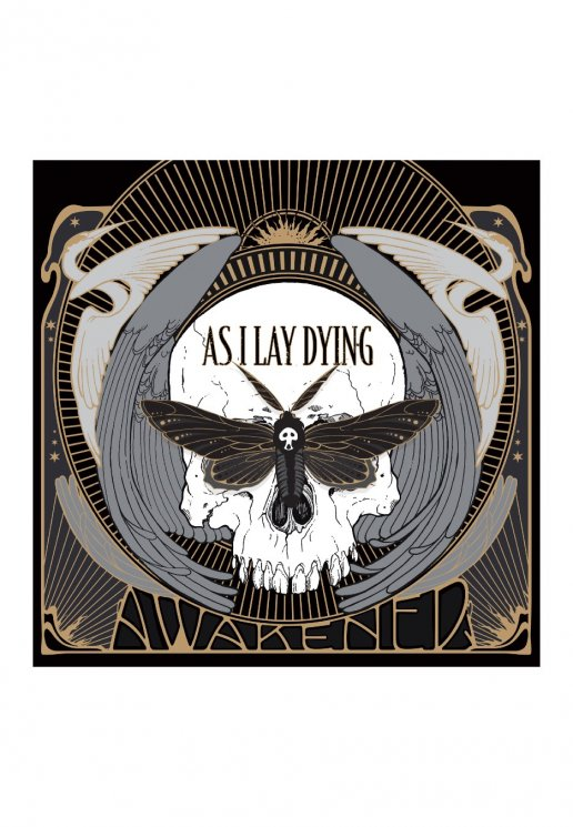 As I Lay Dying Awakened Cd Official Metalcore Merchandise Shop