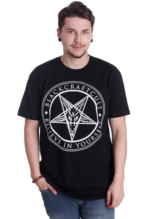Black Craft Cult Believe In Yourself T Shirt Streetwear Shop
