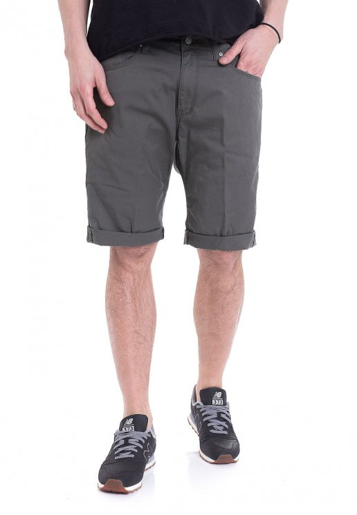 Carhartt Wip Swell Witchita Air Force Grey Rinsed Shorts
