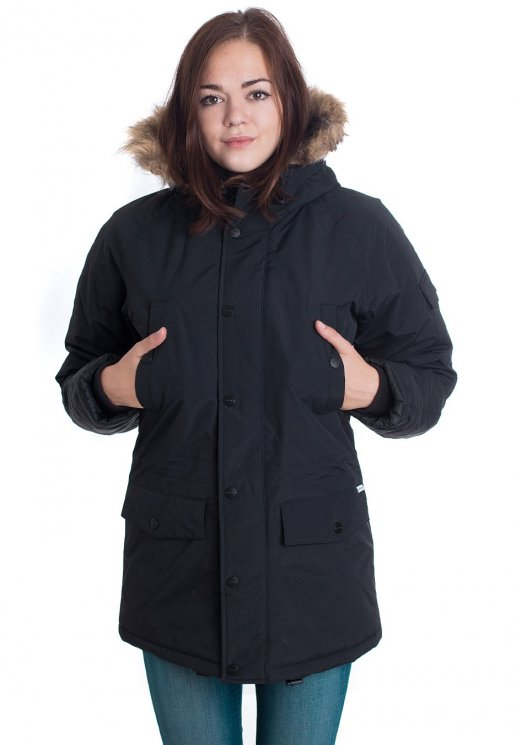 Carhartt WIP Anchorage Parka Jacket (black)