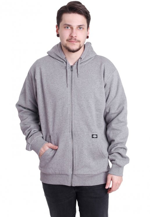 Dickies Kingsley Grey Melange Zipper