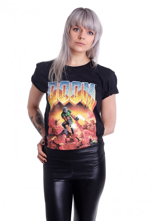 8f79654f Doom - Classic Box Art - T-Shirt - Impericon.com AU