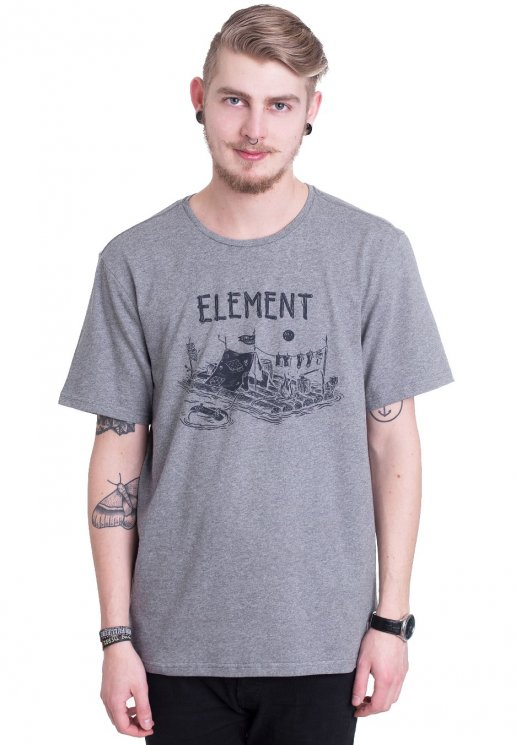74b612f9 Element - River Dreams Grey Heather - T-Shirt - Impericon.com NL