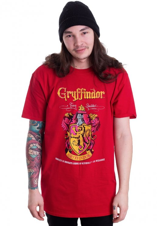Harry Potter - Gryffindor Quidditch Red - T-Shirt - Impericon.com AU a2114cb0e6f6