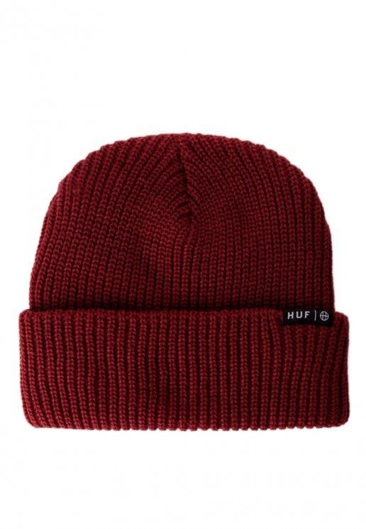 e54bc71ed63 HUF - Usual Burgundy - Beanie - Streetwear Shop - Impericon.com AU