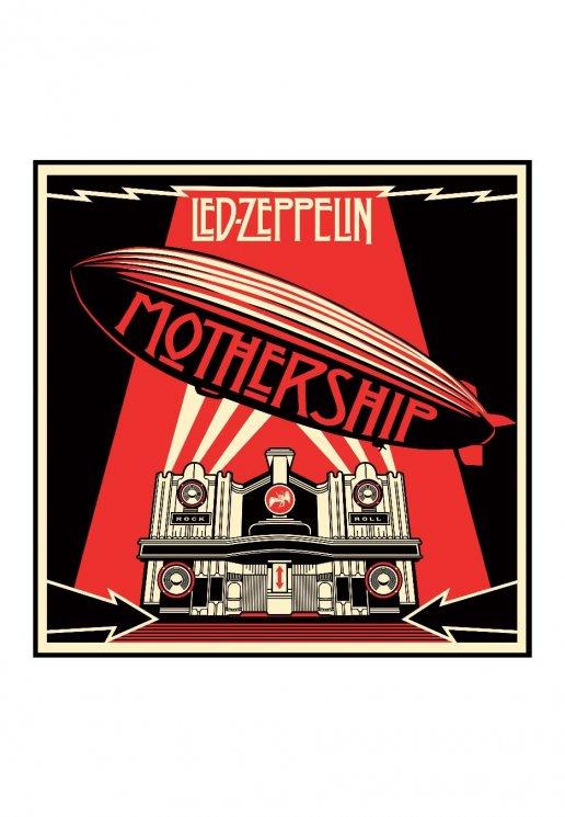 led zeppelin mothership 2 cd official blues rock merchandise