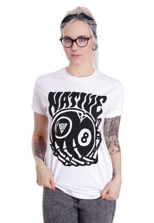 adf35814c1d26a Native Brand - Times Up White - Tričko - Streetwear obchod - Impericon.com  CZ/SK