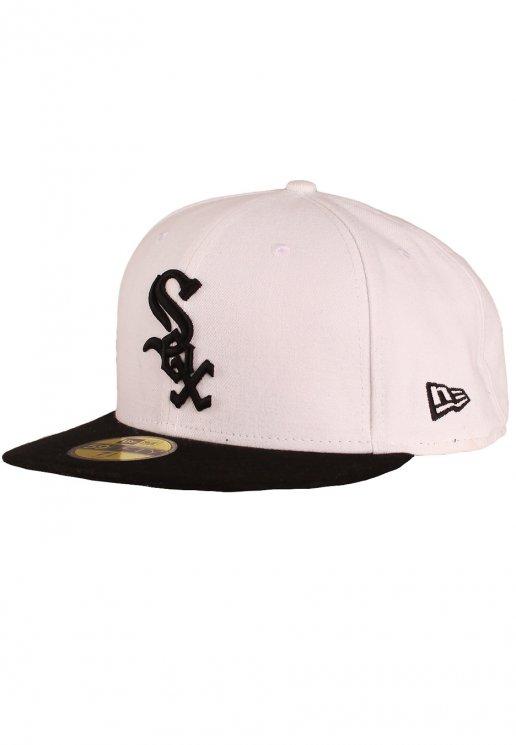 New Era Basic Cont Visor Chicago White Sox WhiteBlack Cap