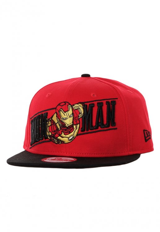 93a557d3d New Era - Breaker Snap Ironman Red/Black Snapback - Cap - Impericon.com AU
