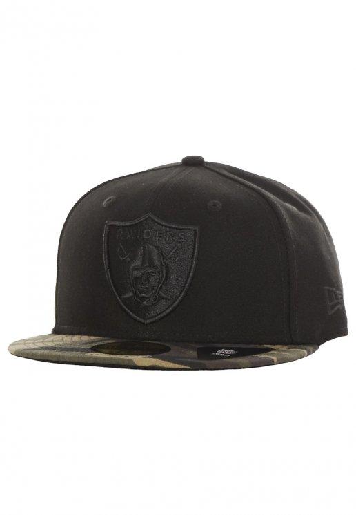 New Era - Camo 59Fifty Oakland Raiders Black Woodland Camo - Cap -  Streetwear Shop - Impericon.com UK 7805c938684