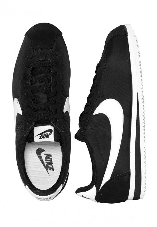 premium selection bd950 5ef19 Nike - Classic Cortez Nylon Black/White - Shoes