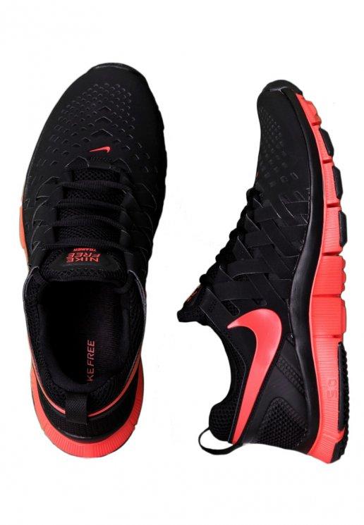 nike free trainer 5.0 black light crimson