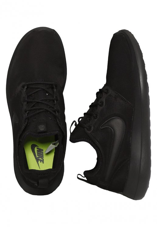 huge discount a65ec 6106b Nike - Roshe Two Black/Black/Black - Shoes