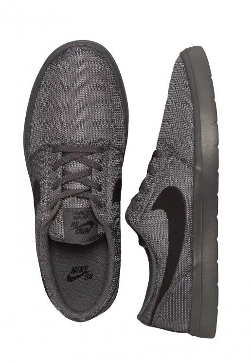 letal septiembre Resplandor  Nike - SB Portmore II Ultralight Dark Grey/Black - Shoes - Fashion Shop -  Impericon.com US