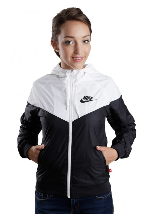 Nike - The Windrunner Black White Black - Girl Jacket - Streetwear Shop -  Impericon.com AU 2f87f72a81